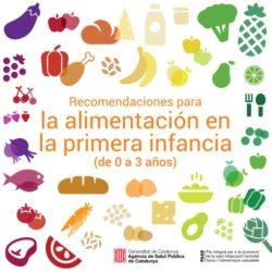 Recomendaciones para la alimentación en la primera infancia (0-3 años)