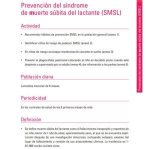 AEPAP – Prevención del Síndrome de Muerte súbita del Lactante (2009)