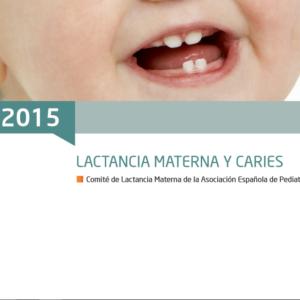 AEPED- Lactancia materna y caries 2015