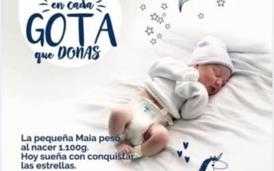 El banco de leche materna de Euskadi solicita donantes.