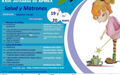 XXIII JORNADAS DE APMEX 19 Y 20 MAYO